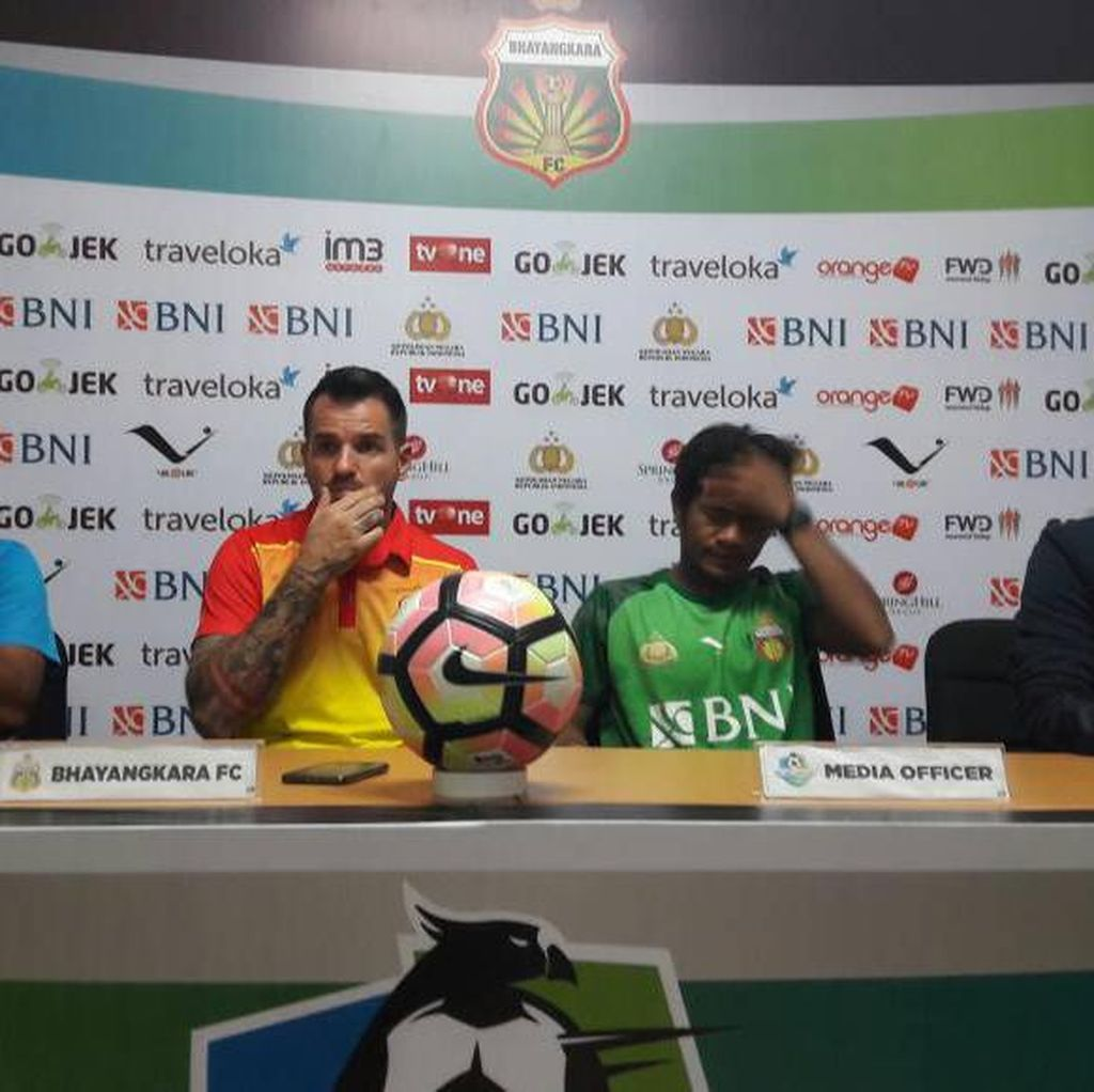 Kemenangan atas Semen Padang Puaskan Pelatih Bhayangkara FC