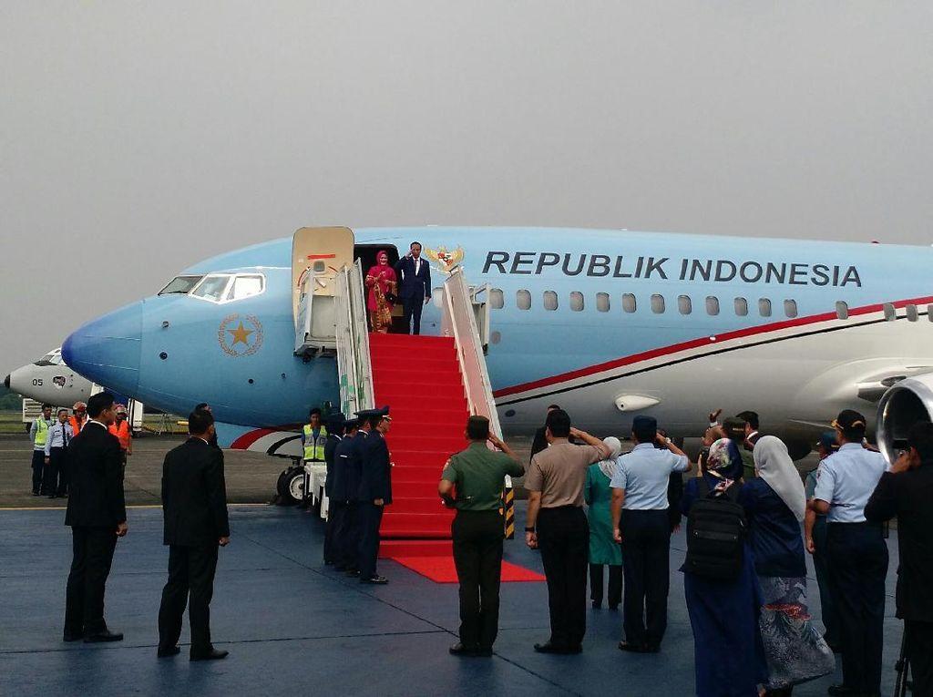 PD: Jokowi Cuma Boleh Pakai Pesawat RI-1 Saat Kunker Saja