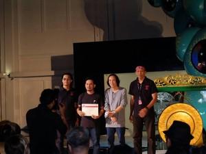 Syaiful Garibaldi dan Bagus Pandega Raih Penghargaan Seniman Muda Art Jog 10