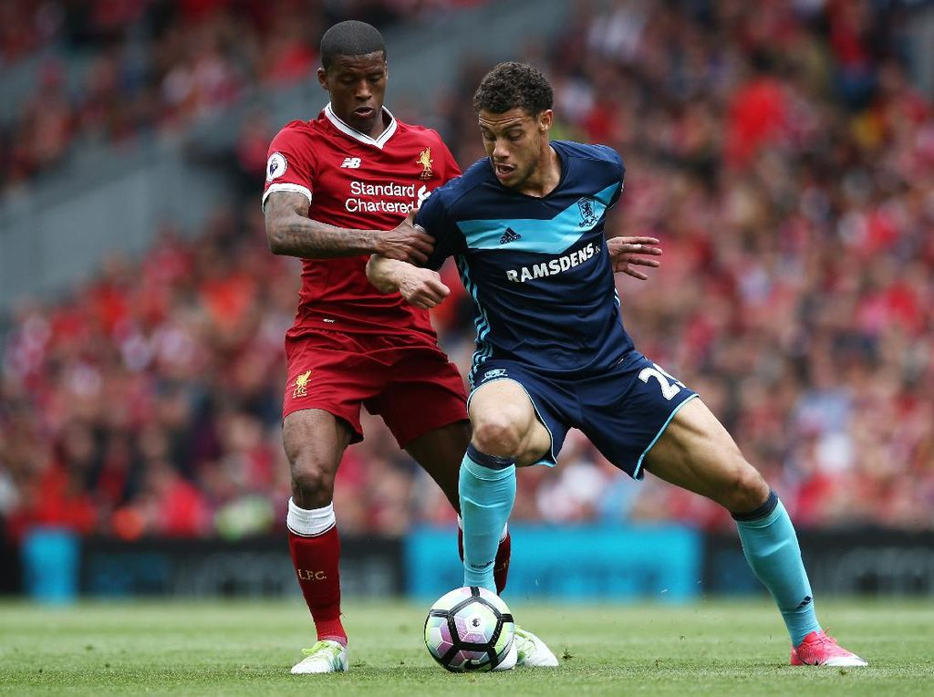 Liverpool Sedang Unggul 1-0 atas Middlesbrough