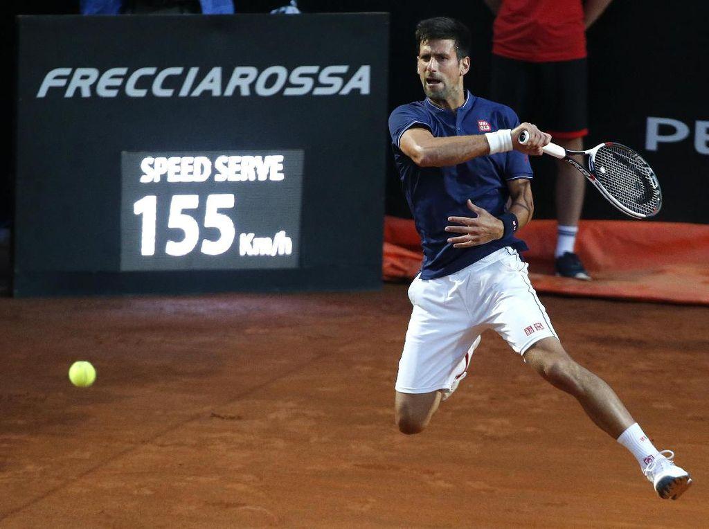 Djokovic Melaju Mulus ke Final