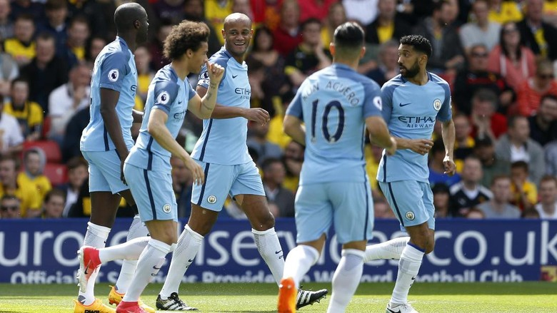 City ungguli watford 4 0 di babak pertama for Q kitchen watford city