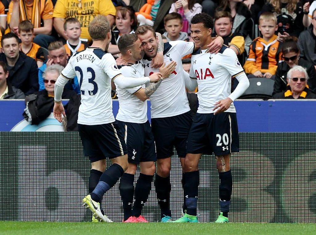 Tottenham Belum Kuat Mental Main di Liga Champions