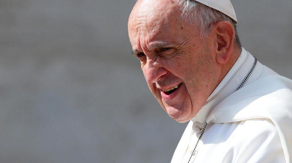 2 Napi Italia Kabur Saat Makan Siang Bersama Paus Fransiskus