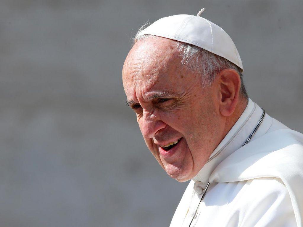 Sayangkan Kekerasan di Yerusalem, Paus Fransiskus Serukan Dialog