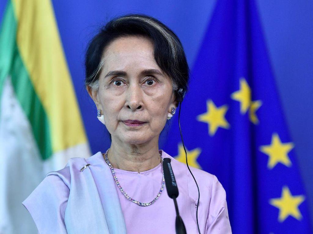 Ironi Aung San Suu Kyi, Diam Saat Ribuan Muslim Rohingya Mengungsi