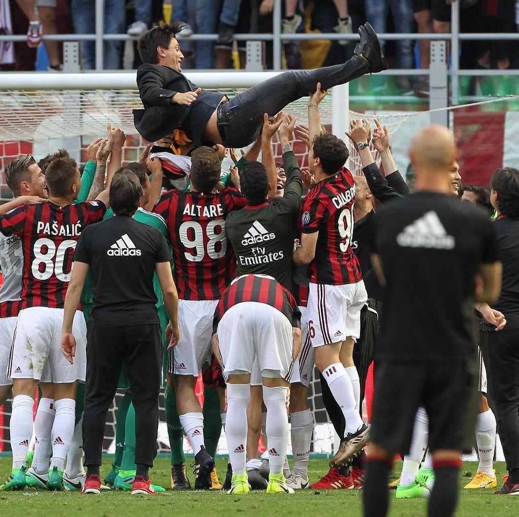 Nesta Sebut Milan Pantas Rayakan Kelolosan ke Liga Europa