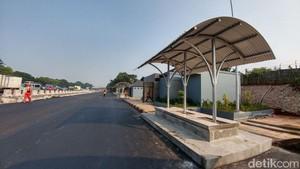 Jelang Mudik,  5 Parking Bay Dibangun di Tol Cikampek