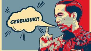 "Sekali Lagi, Membaca Isyarat ""Gebuk"" Presiden Jokowi"