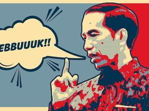 """""""Gebuk"""" Presiden Jokowi dan 19 Tahun Reformasi"""