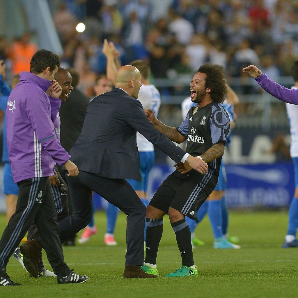 Gelar Juara La Liga Sudah, Madrid Tinggal Fokus Liga Champions