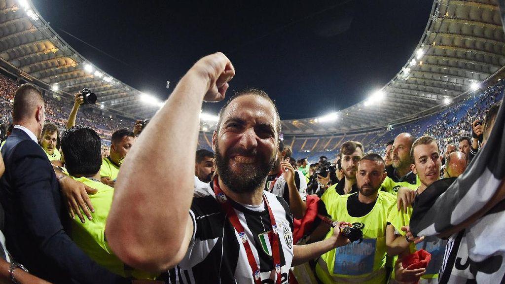 Higuain: Semoga Ramos Tak Bikin Gol di Menit ke-90