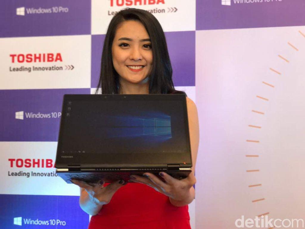 Portege X20W, Notebook Bisnis Tipis nan Ringan