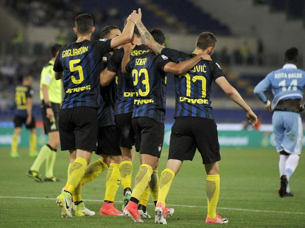 Akhirnya Menang Lagi, Inter Tundukkan Lazio 3-1