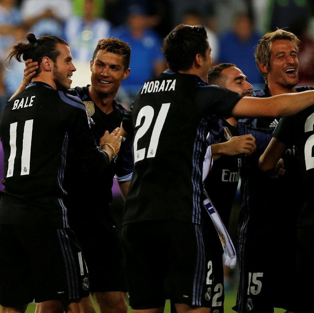 Real Madrid yang Terus Bobol Gawang Lawan Dalam 38 Pertandingan