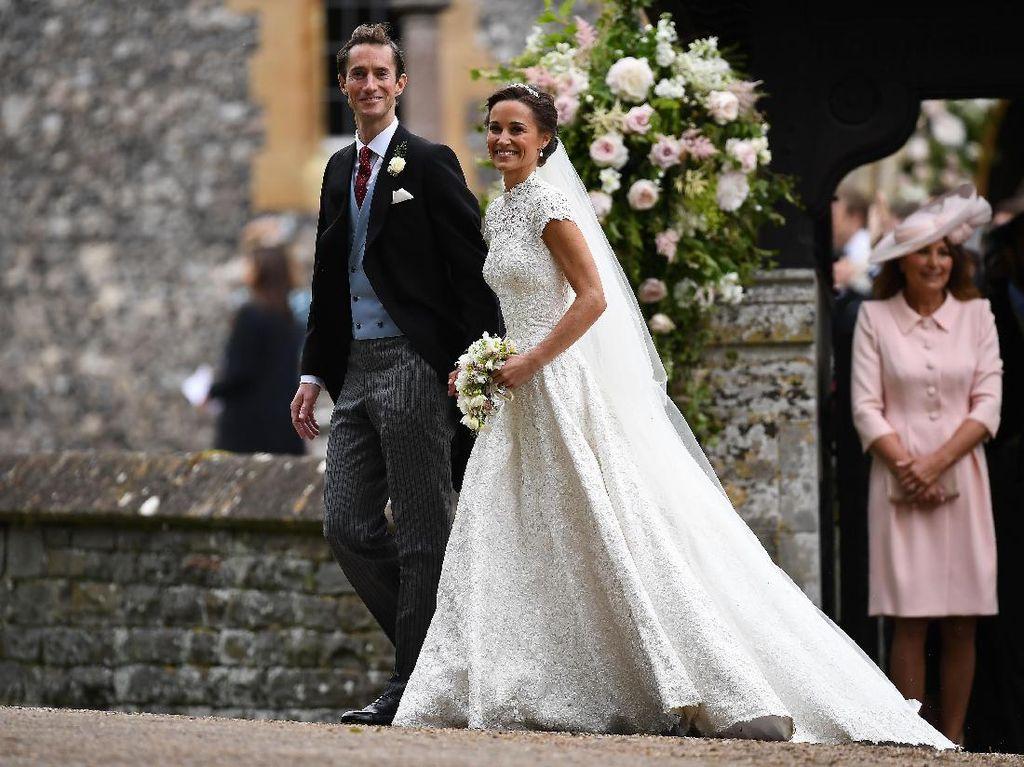 Foto: 15 Momen Pernikahan Pippa Middleton