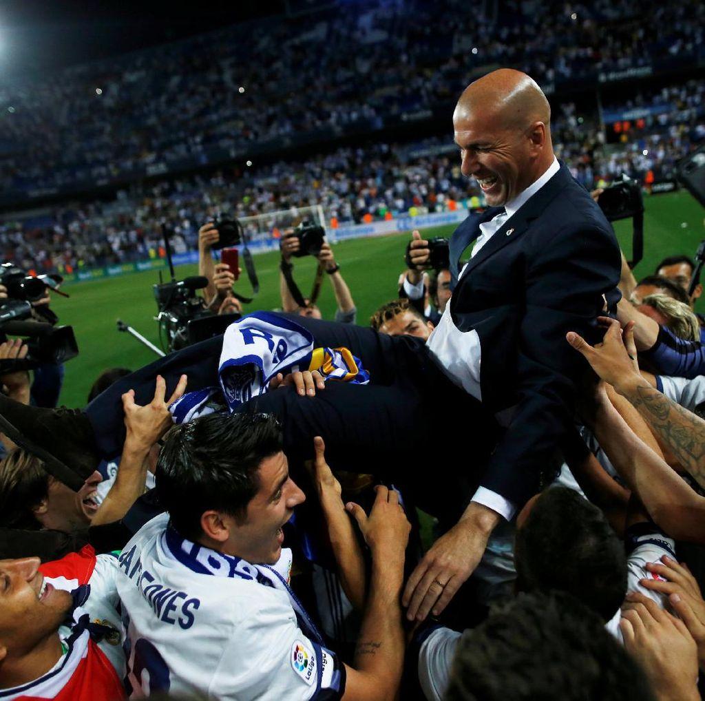 Zidane Ikuti Jejak Valdano, Del Bosque, dan Schuster