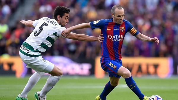 Iniesta Akui Madrid Lebih Baik