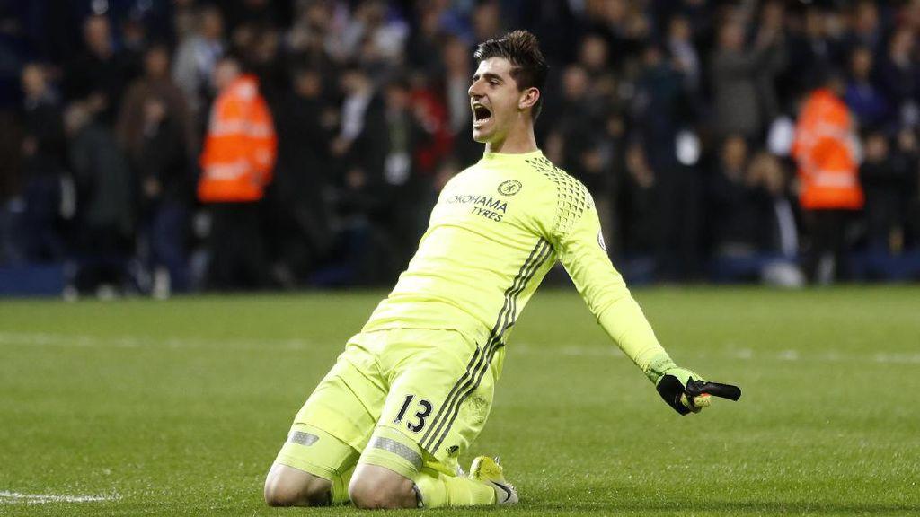 Courtois Minta Kontrak Baru dari Chelsea