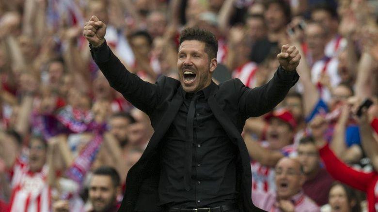Simeone Pastikan Bertahan di Atletico