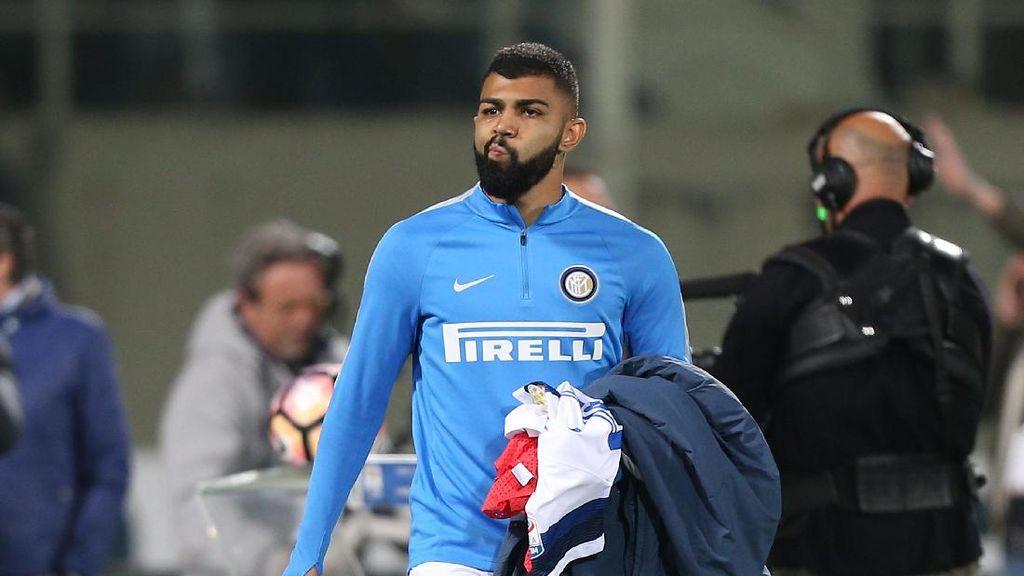Ketika Gabigol Ngeloyor dari Bench Inter