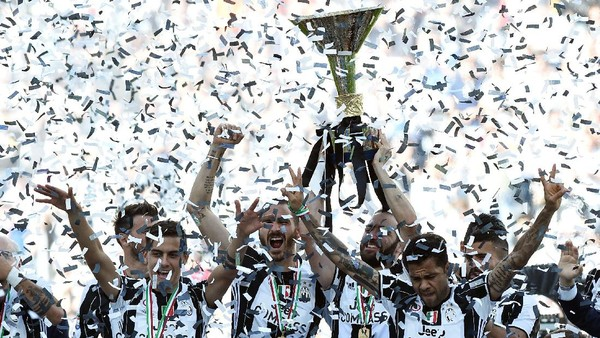 #LE6END: Tentang Enam <i>Scudetto</i> Beruntun Juventus