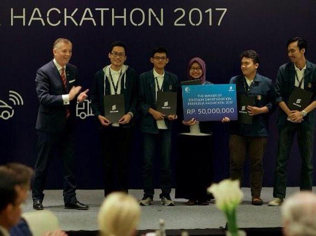 Mahasiswa ITB Menangkan Kompetisi Smart City Ericsson