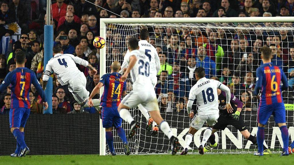 Madrid Tim yang Paling Banyak Bikin Gol lewat Sundulan
