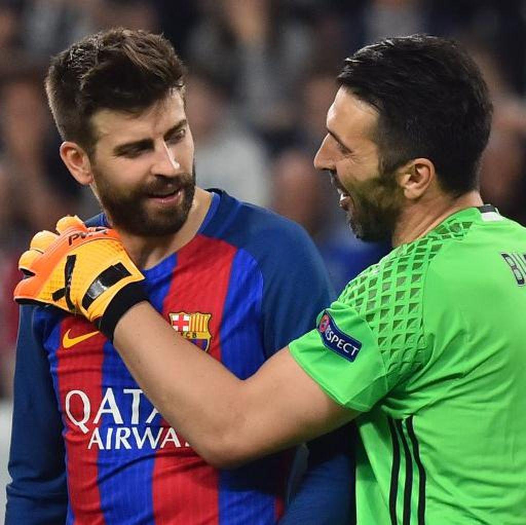 Pique: Buffon Layak Diganjar Ballon dOr