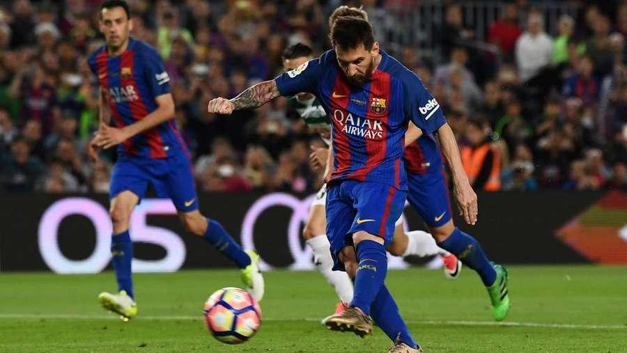 Barcelona Paling Sering Dapat Penalti di La Liga 2016-17