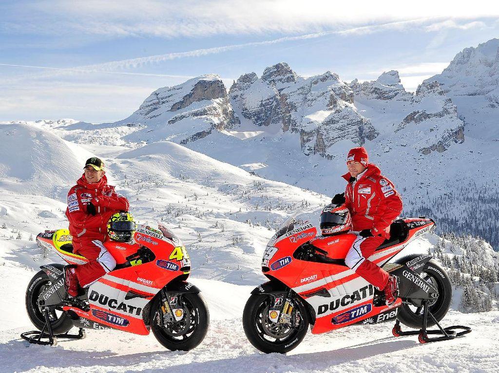 Kenangan Terbaik Rossi bersama Hayden
