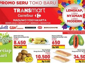 Promo Toko Baru di Transmart Carrefour Maguwo dan Transmart Tegal