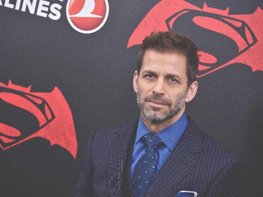 Zack Snyder Cerita Pengalaman Garap Ulang Justice League