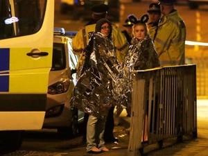 Teror Bom di Konser Ariana Grande,  20 Orang dalam Kondisi Kritis