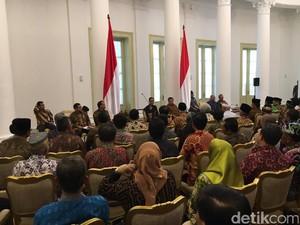 Jokowi-JK Kumpulkan Tokoh Lintas Agama di Istana Bogor