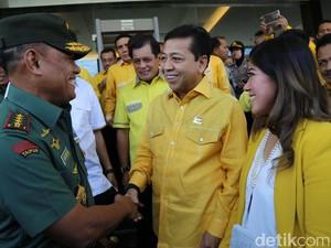 Kata Meutya Hafid soal Puisi Panglima TNI di Rapimnas Golkar