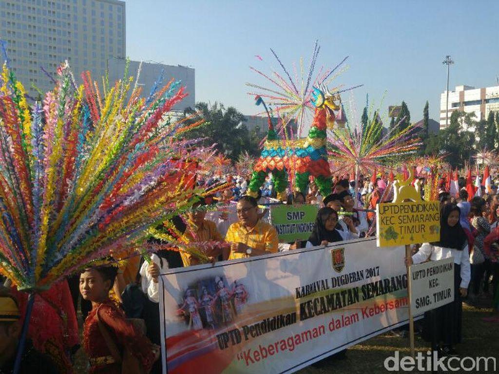 Potret Kemeriahan Karnaval Dugderan Semarang