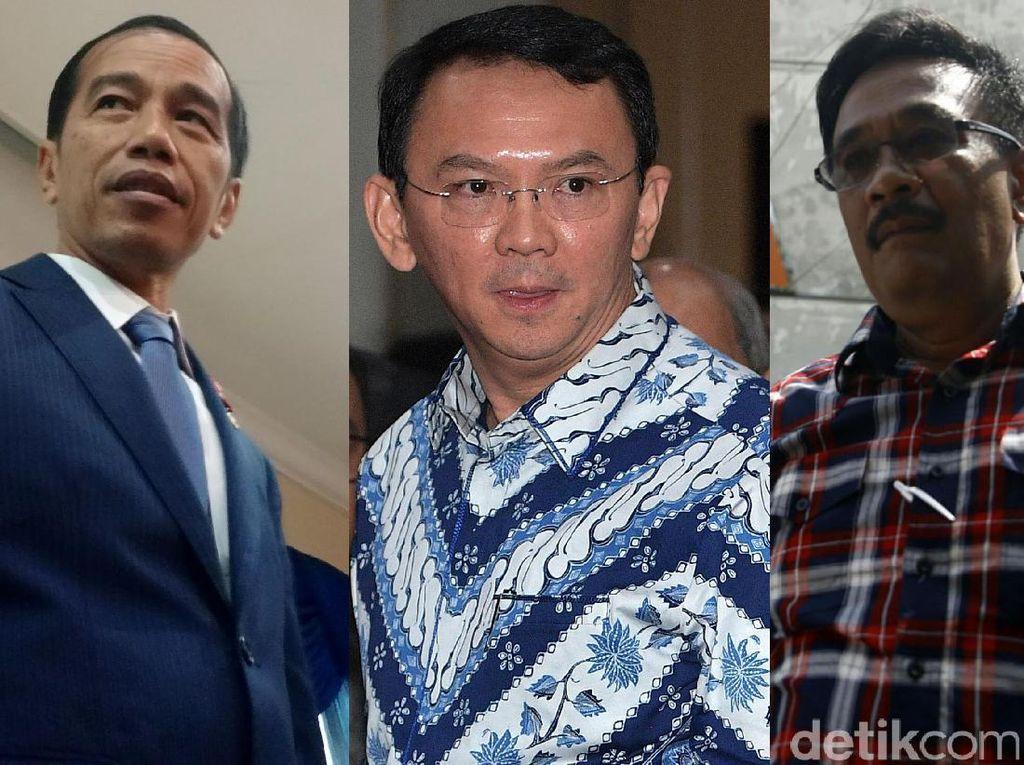 Jakarta Punya 3 Gubernur dalam 5 Tahun