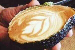 Asyiknya Menyeruput Avolatte, Cafe Latte dalam Buah Alpukat