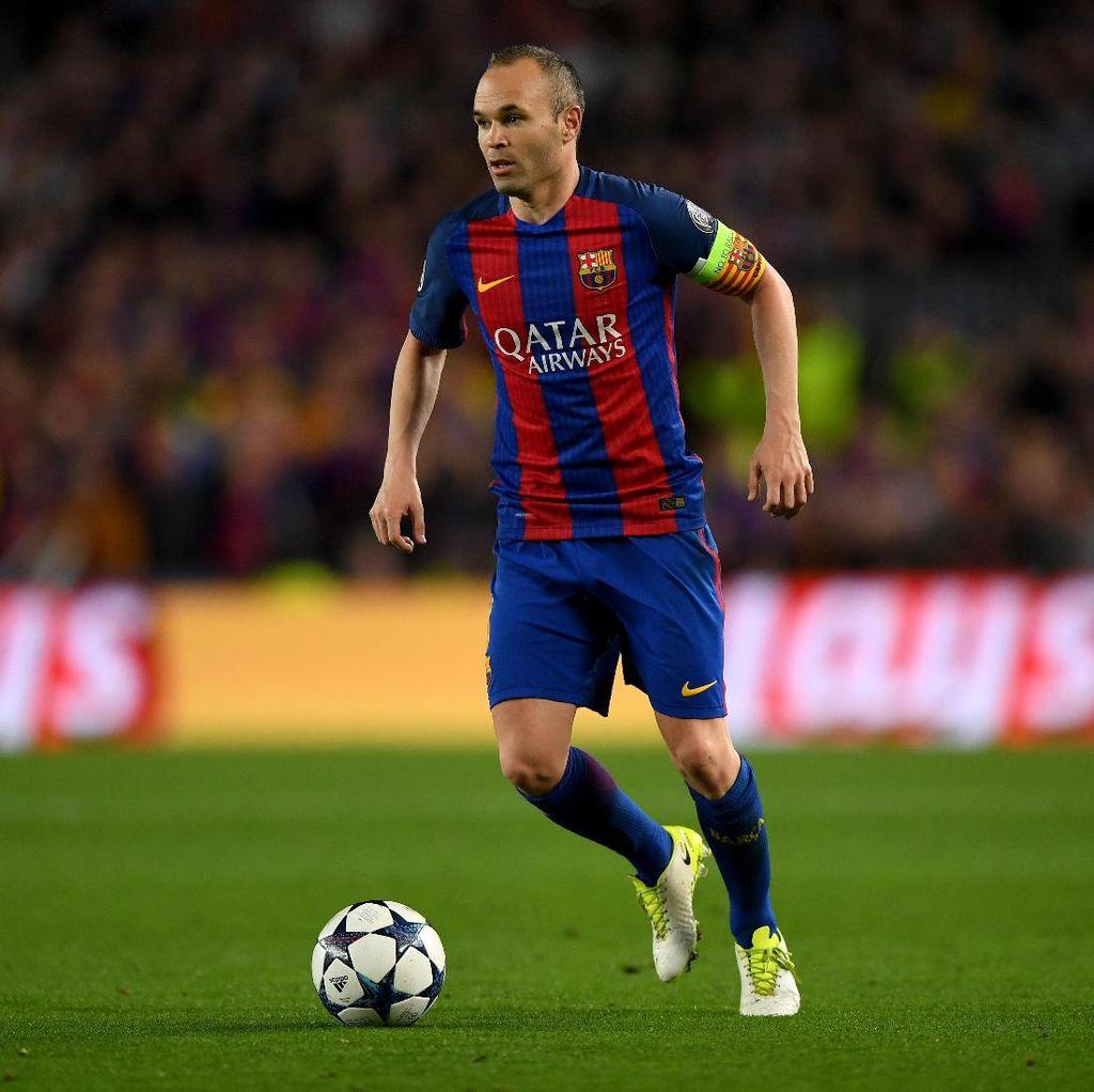 Iniesta: Bukan Musim yang Bagus untuk Barcelona