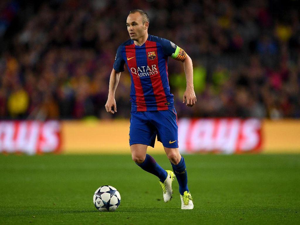 Iniesta Buka Peluang Tinggalkan Barcelona
