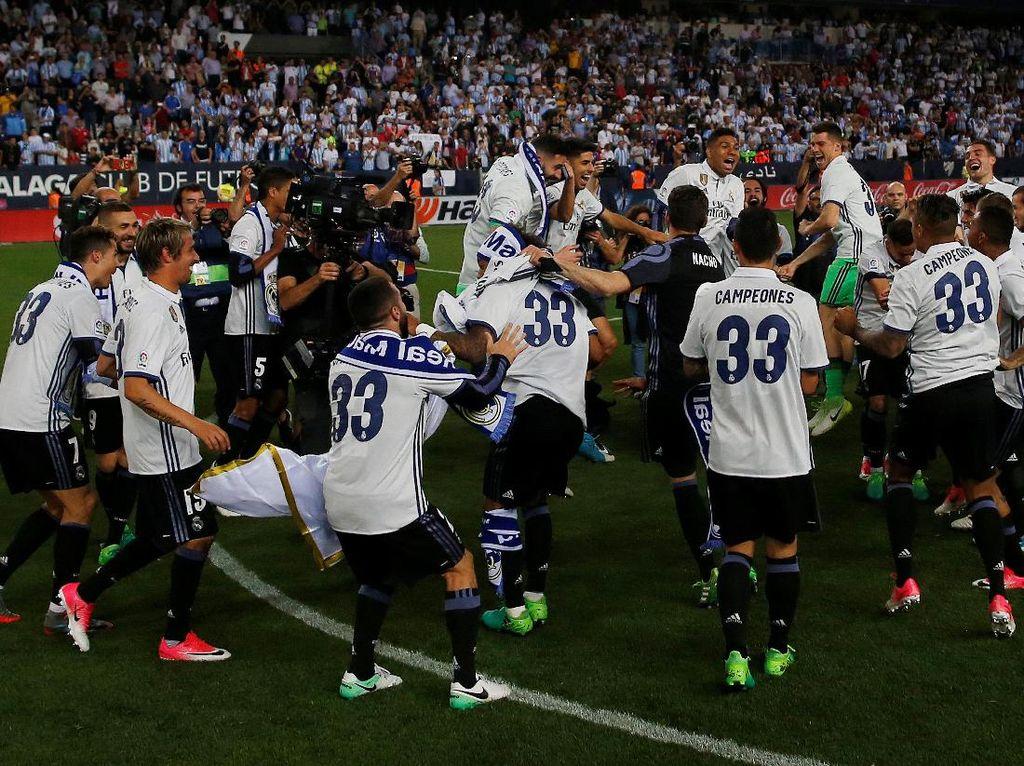 Madrid Juara La Liga, Trofinya Mana?