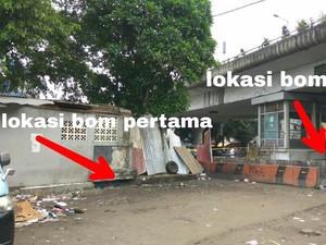 Begini Detail dan Jarak 2 Lokasi Ledakan Bom Kampung Melayu