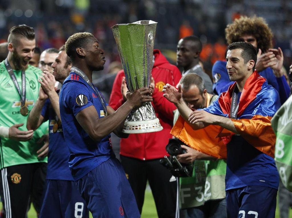 Rekor Man United di Final Kompetisi Antarklub Eropa