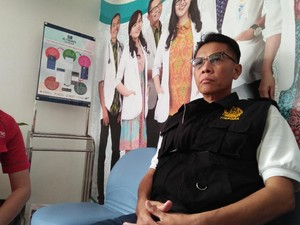 Rintihan Yogi Korban Luka Bom Kampung Melayu Saat Telepon Ayah