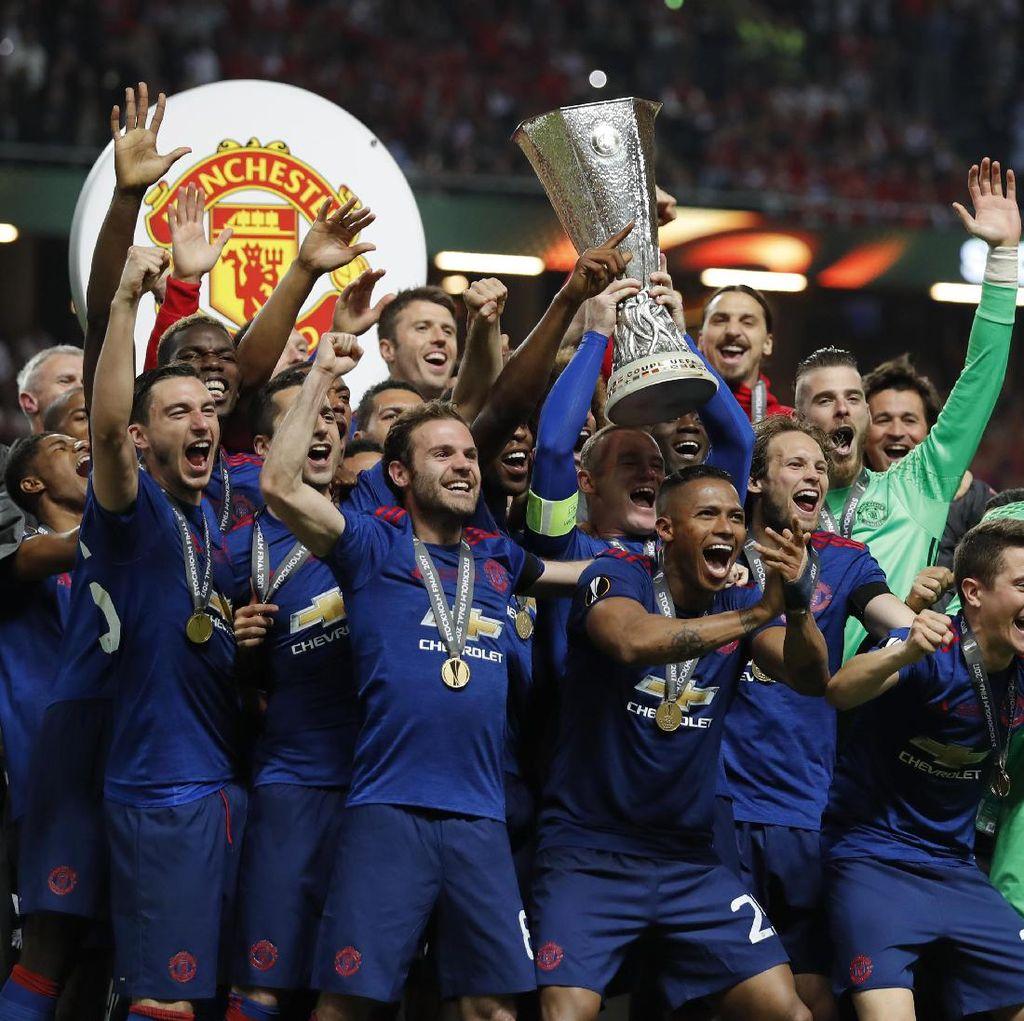 Pemain-Pemain MU Dominasi Susunan Tim Terbaik Liga Europa Musim Ini