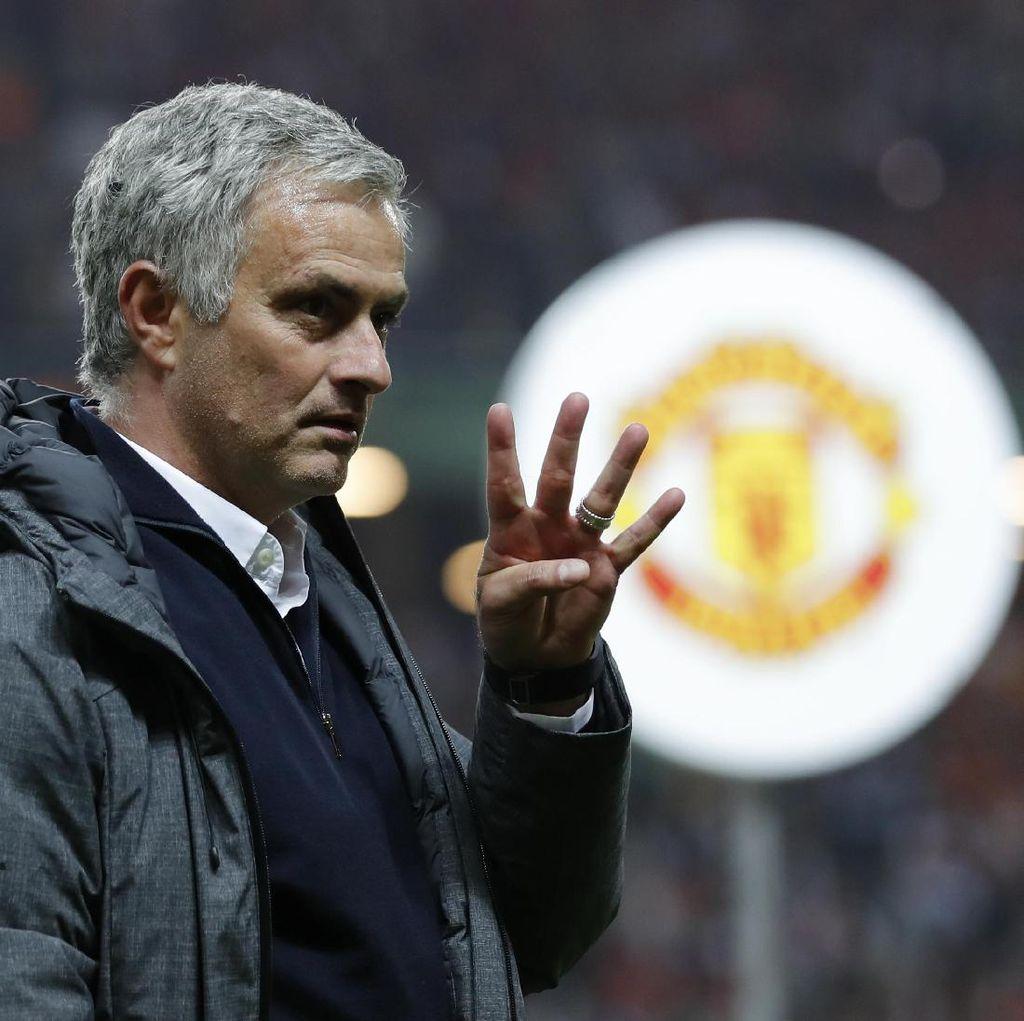 MU Tantang Madrid, Mourinho: Sebuah Kehormatan Menghadapi Tim Terbaik di Eropa