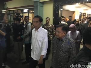 Momen Kekompakan Jokowi-JK: Dari RS Polri ke TKP Bom Kampung Melayu