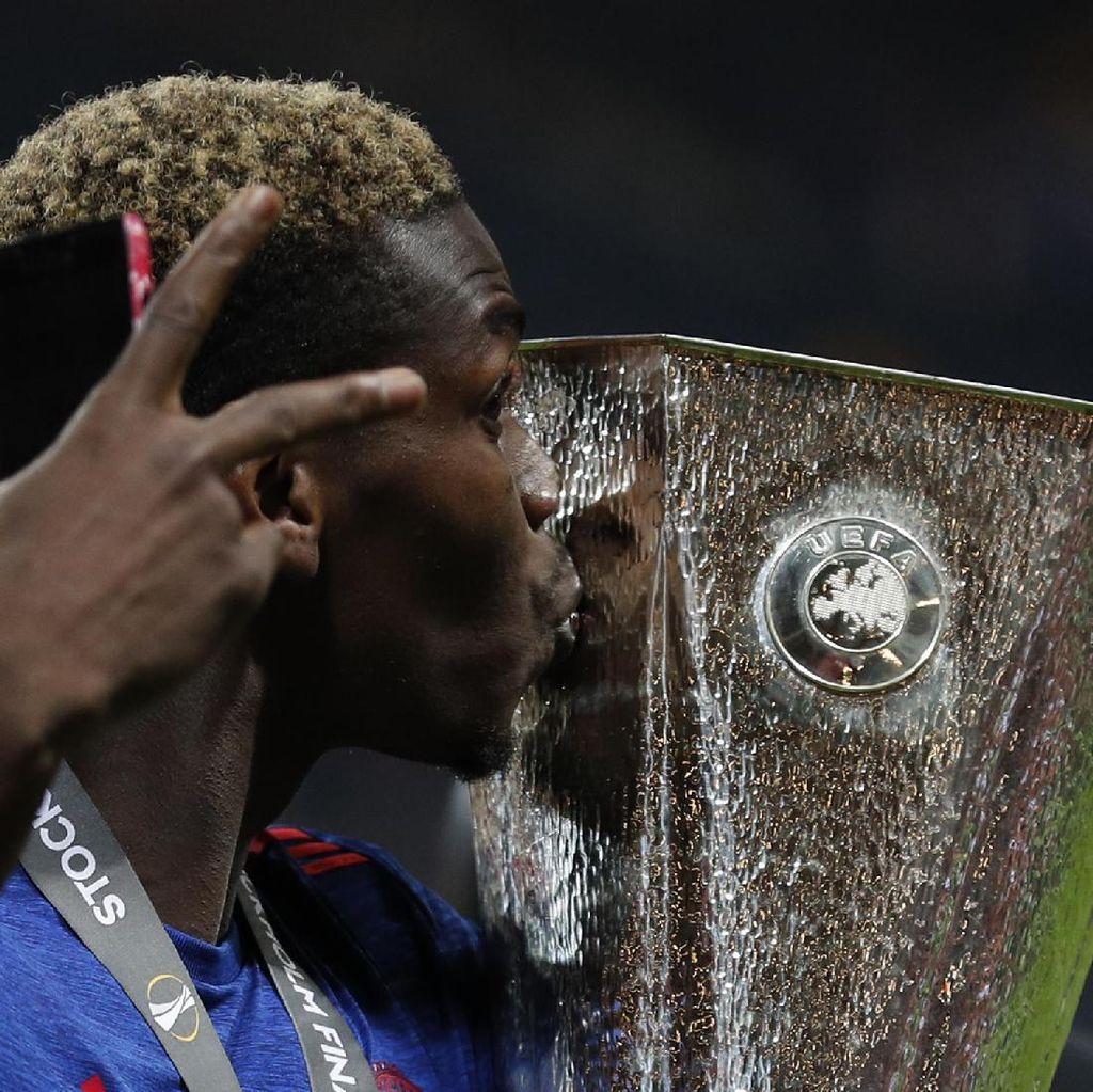 Pogba Ingin Lawan Juve di Piala Super Eropa