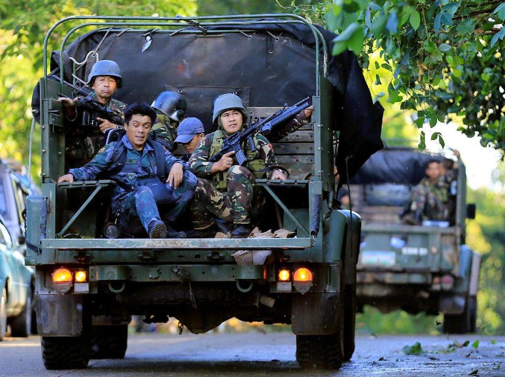Wanita Pengebom Bunuh Diri Tewas di Pangkalan Militer Filipina